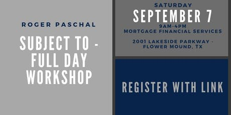 Subject To - Full Day Workshop tickets