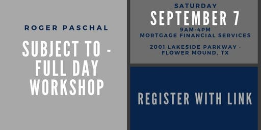 Subject To - Full Day Workshop