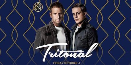 Tritonal @ Noto Philly October 4 tickets