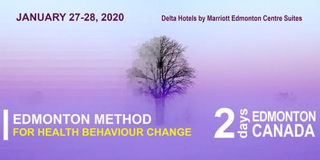 Edmonton Method for Health Behaviour Change (2 Day Intensive) tickets