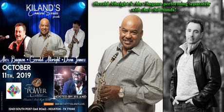 Kiland's Concert Series presents Gerald Albright & Alex Bugnon! tickets