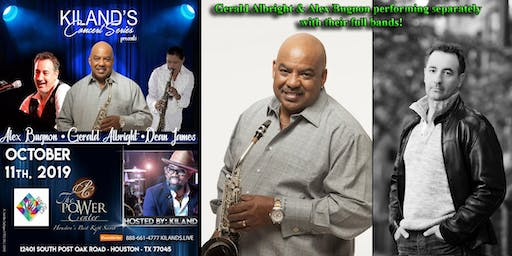 Kiland's Concert Series presents Gerald Albright & Alex Bugnon!