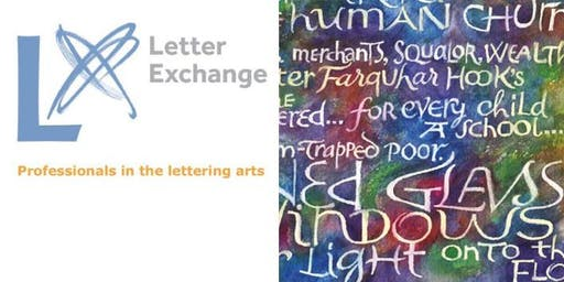 Letter Exchange Lecture by Stephen Raw