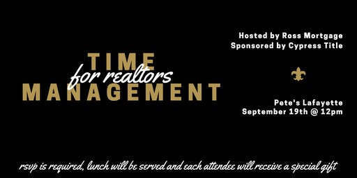 Master Your Calendar: Time Management for Realtors