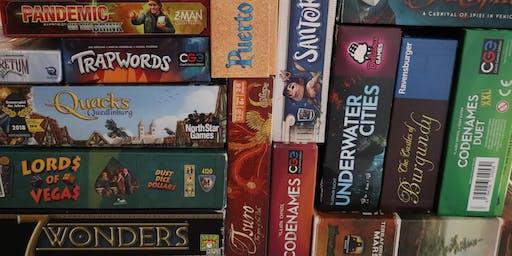 Board Game Garage Sale