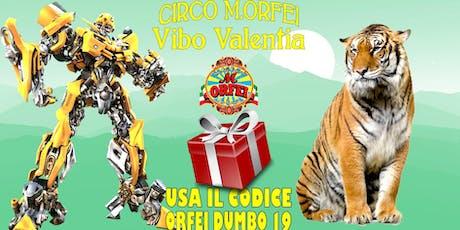 Il Circo M. Orfei a Vibo Valentia, fino al 15 settembre, sconti biglietti