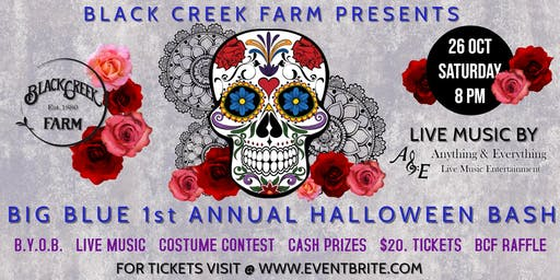 Big Blue 1st Annual Halloween Bash