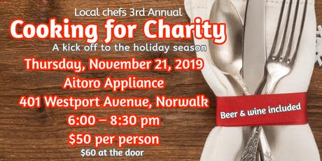 3rd Annual Cooking for Charity tickets