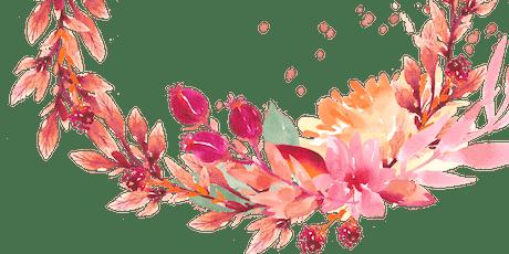 Acuarela Botánica, obra enmarcada! entradas