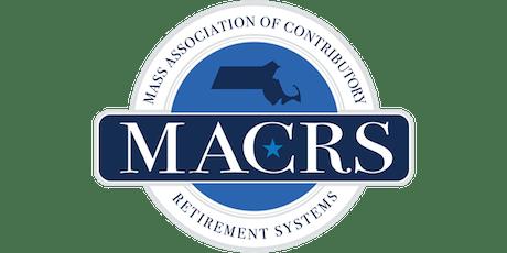 MACRS 2019 Kevin J. Regan Fall Conference Vendor Registration  tickets