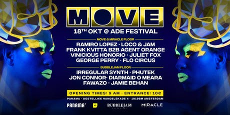 MOVE - ADE 2019 tickets