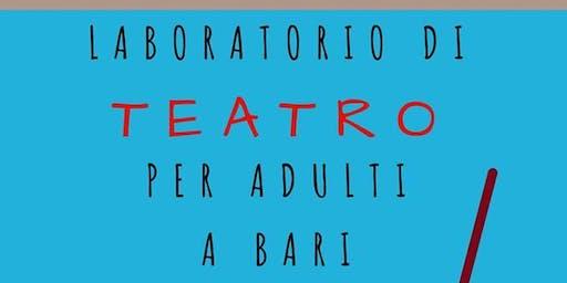 laboratorio di teatro - prima lezione gratuita