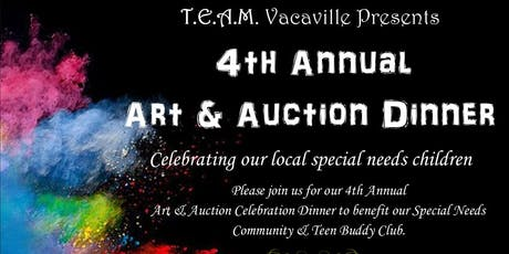 Team Vacaville's 4th Annual Art & Auction Dinner tickets