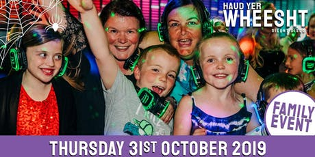 HYW Family Halloween Silent Disco at McPhails (31st October) tickets