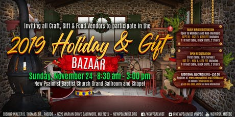2019 Holiday & Gift Bazaar tickets