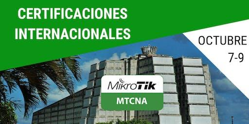 Certificacion MikroTik MTCNA