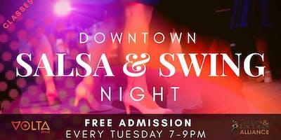 Downtown Salsa & Swing Night