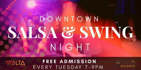 Downtown Salsa & Swing Night  tickets