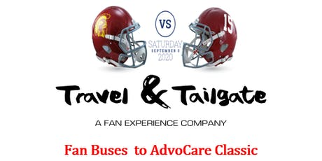9/5/2020 Advocare Classic Transportation - Fan Buses to AT&T Stadium & Tailgates tickets