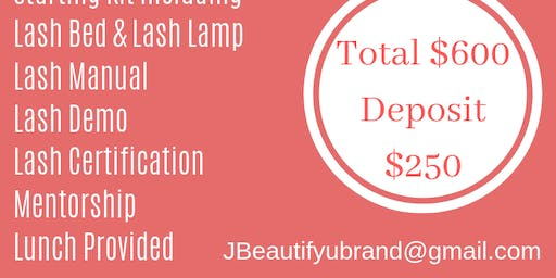 One on One Lash Training Deluxe Package