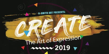 P Smith Art Presents: CREATE - The Art of Expression tickets