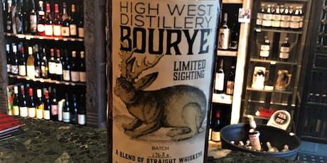 High West Bourye Tasting tickets