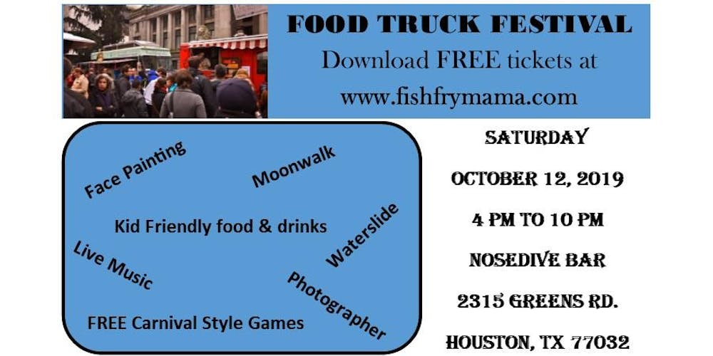 Fish Fry Mama Food Truck Festival Tickets, Sat, Oct 12, 2019