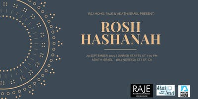 San Francisco Rosh Hashanah with RSJ MoHo, RAJE and Adath Israel