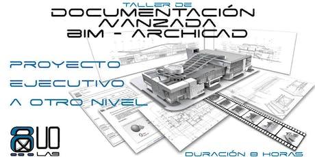 Taller BIM Archicad de Documentación Avanzada y Optimización entradas