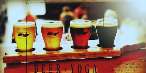 Beer and Yoga @ TVBC