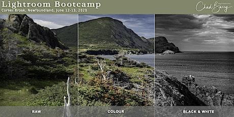 Lightroom Bootcamp - Corner Brook - June 12 & 13, 2020 tickets