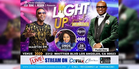 Light Up Concert Los Angeles tickets