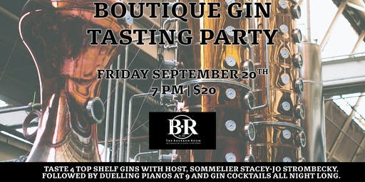 Boutique Gin Sampling Party