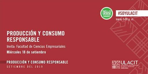 SELLO VERDE: Producción y consumo responsable