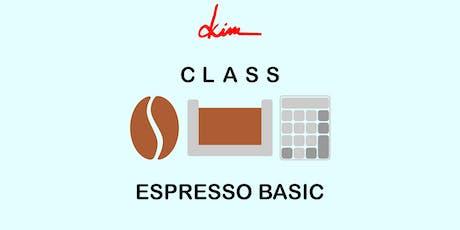 Class - Espresso Basic tickets
