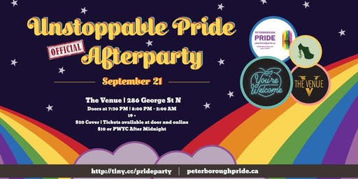 Unstoppable Pride Official Afterparty