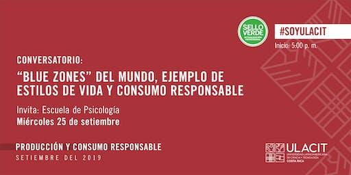 SELLO VERDE: Estilos de vida sanos y consumo responsable