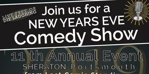 11th Annual New Years Eve Comedy Show - Early  Show - With Kelly MacFarland