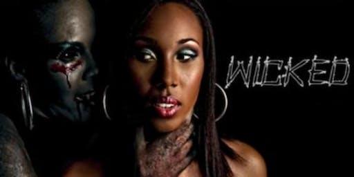 Love & Hip Hop DJ SELF | Wicked Halloween | Costume and Gothic Black affair