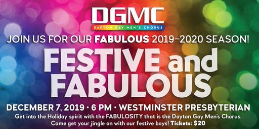 DGMC Presents: Festive and Fabulous!