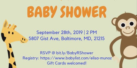 Elisa & Reggies Baby Shower tickets
