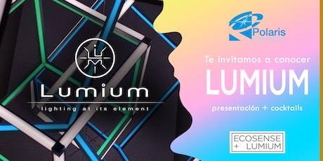 Ven a conocer LumiumLighting tickets