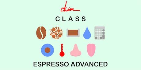 Class - Espresso Advanced tickets