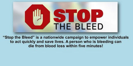 A Free Stop the Bleed Course for MC's. tickets