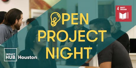 Open Project Night Focusing on SDG 4: Quality Education tickets