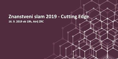 Znanstveni slam 2019 - Cutting Edge
