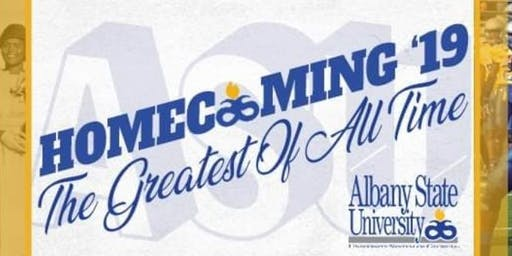 ALBANY STATE UNIVERSITY HOMECOMING 2019 GOLF  ANNUAL TOURNAMENT
