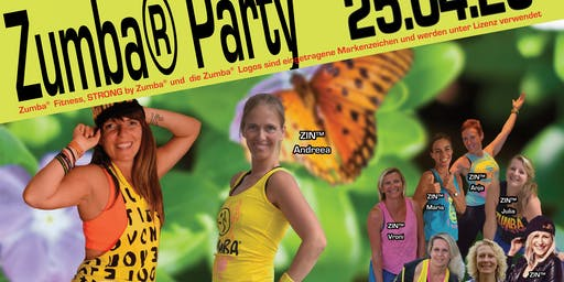 Strong® Master Class und Zumba® Party mit Anita Kroiss