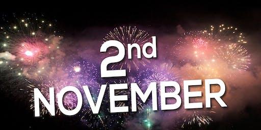 Fireworks display in Harrow invites | Brent | Wembley| Barnet - 2nd Nov