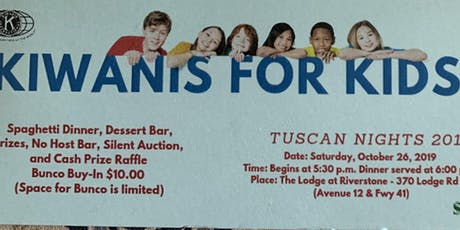 Kiwanis for Kids Fall FUNdraiser tickets